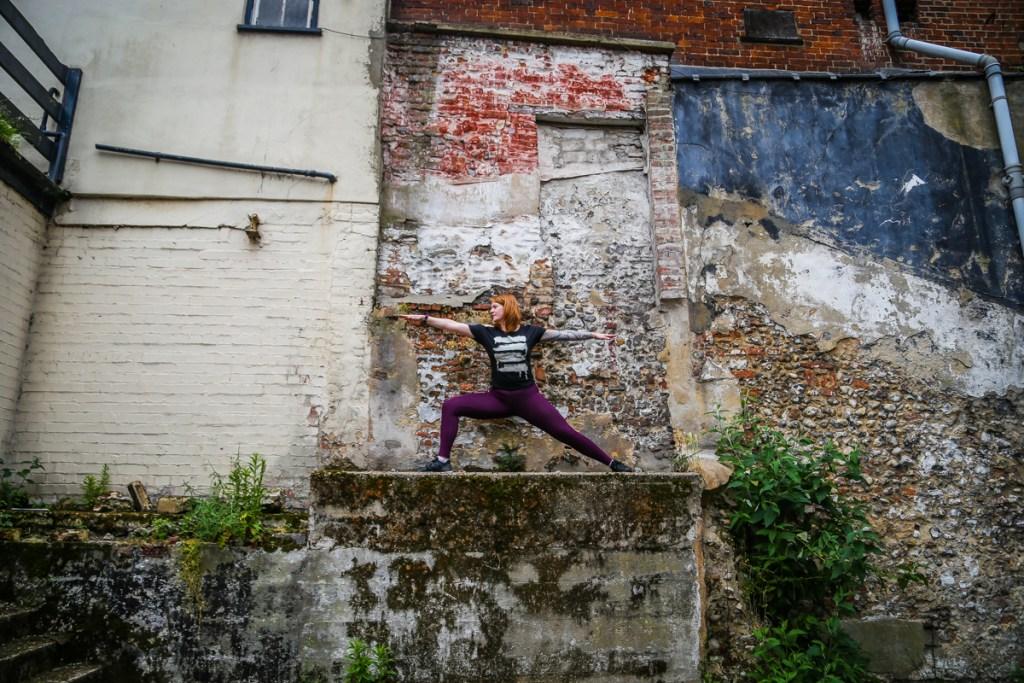 Yogavision Norwich shoot Kirsty 16