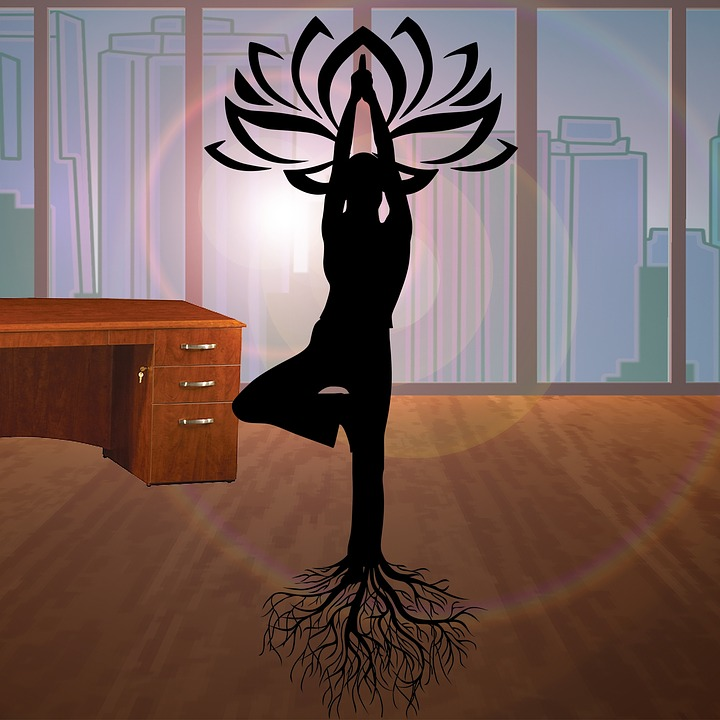 Office Yoga therapy exercises