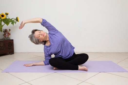 Yoga therapy seniors online