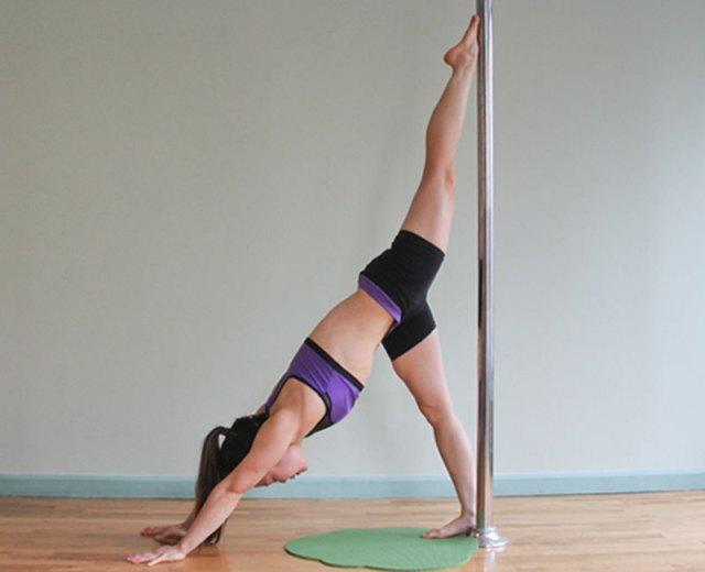 pole yoga 5  Йога с пилоном: