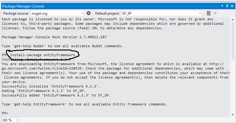 Entity framework 6 Stored Procedure CRUD in asp net MVC 5