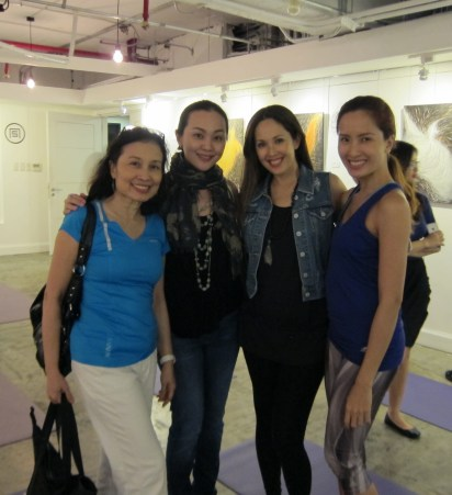 With Teresa Herrera-Anthony (2nd from right)