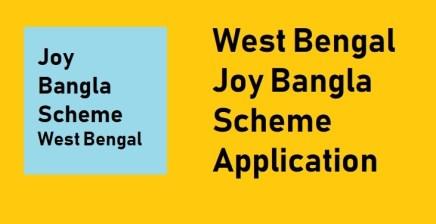 WB Jay Bangla Pension Scheme