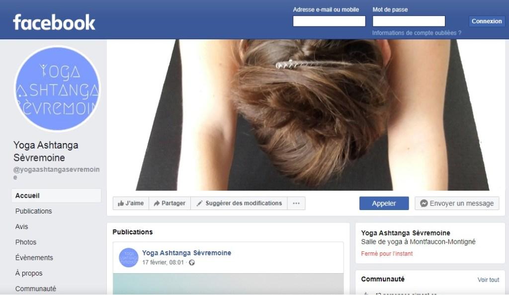 Abonnez-vous à la page facebook de l'association Yoga Ashtanga Sèvremoine pour bénificier de conseils en Yoga, être tenu informer des différents stages et ateliers...