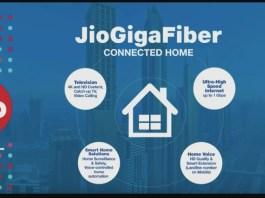 Reliance Jio GigaFiber BroadBand