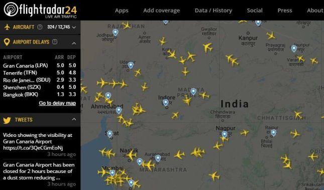 Most amazing website: flightradar24