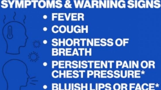 Emergency Warning Symptoms
