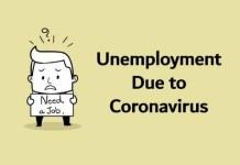 Unemployment Due to Coronavirus