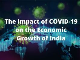 The Impact of COVID-19 on the Economic Growth of India