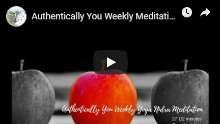Authentic You Weekly Meditation image