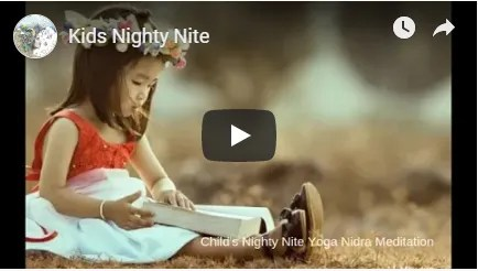 Kids Night Nite Meditation image