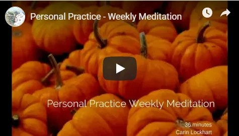 Personal Practice Weekly Meditation image