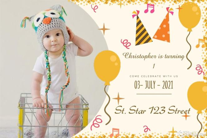 Customize Our Birthday Invitation Cards