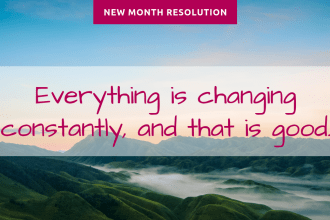 resolution of the month april - New Month Resolution - April