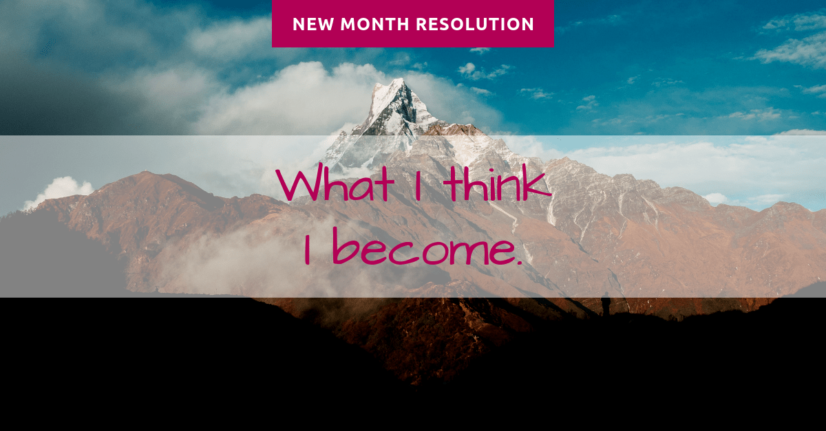 resolution of the month january1 - Yoga bei Stress