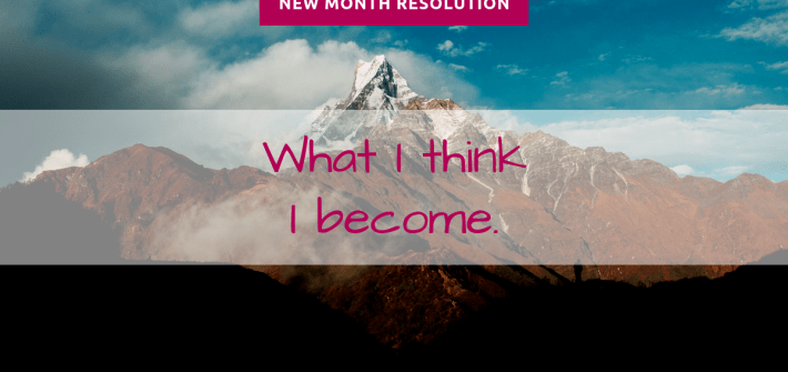 resolution of the month january1 - New Month Resolution - January