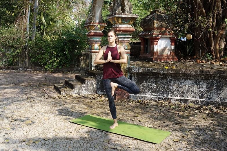 ekapadapranamasana yogtemple - Yoga Asana Glossary