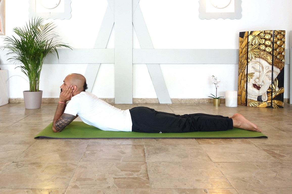 makarasana yogtemple - Yoga Asana Glossary