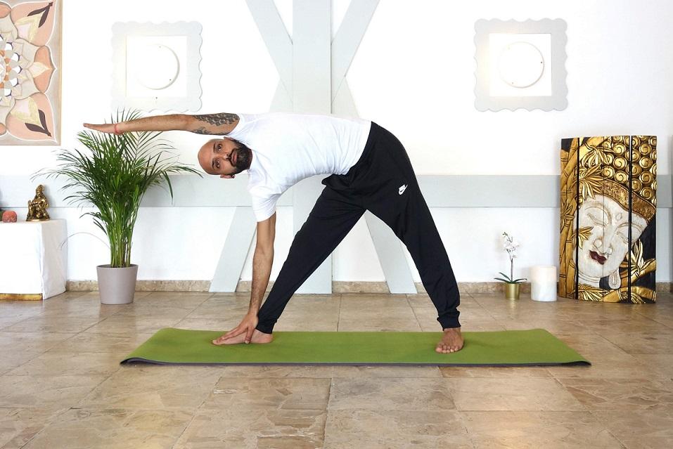 trikonasana yogtemple - Yoga Asana Glossary