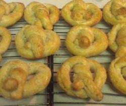 sourdough pretzels