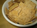 WW SD crackers and salmon dip