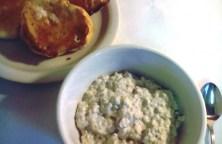 kefired oats
