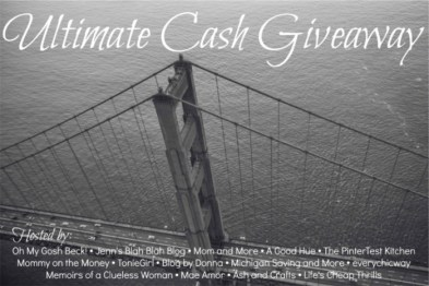 Ultimate Cash Giveaway March 2015