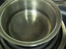 Boil vinegar