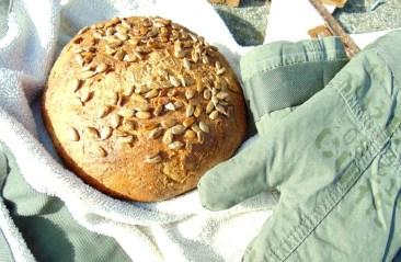 sunflower seed carrot bread
