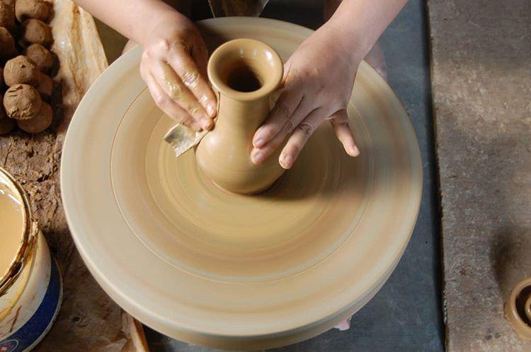 Pottery Craft, source : ekokwnol Instagram