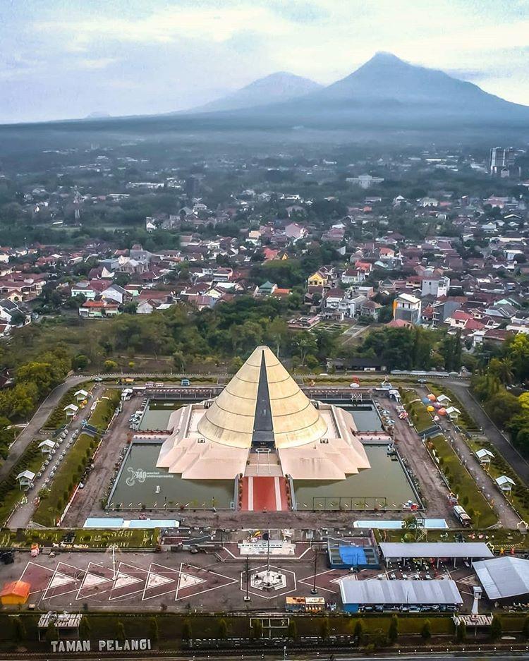 Unique Building in Yogyakarta