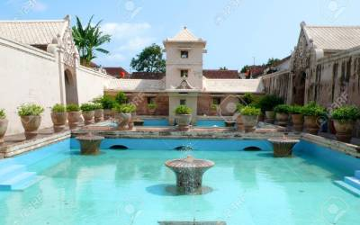 Taman Sari Water Castle, Bath The Sultanate of Yogyakarta