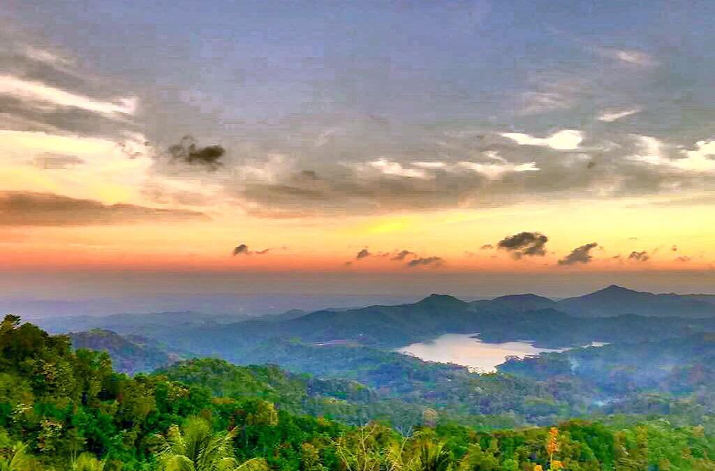 Kalibiru National Park Beauty Place on The West Side of Yogyakarta