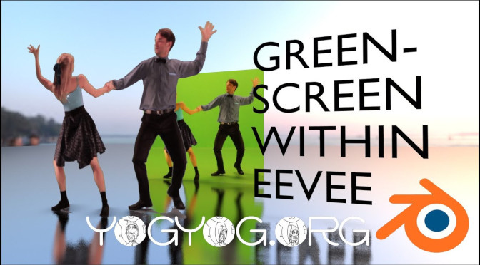 Material Greenscreen