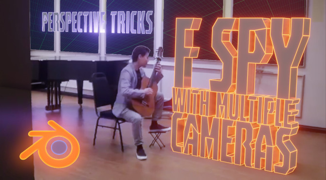 fSpy with Multiple Cameras: Perspective Tricks 5