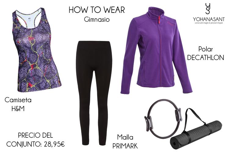 cómo vestir en el gimnasio