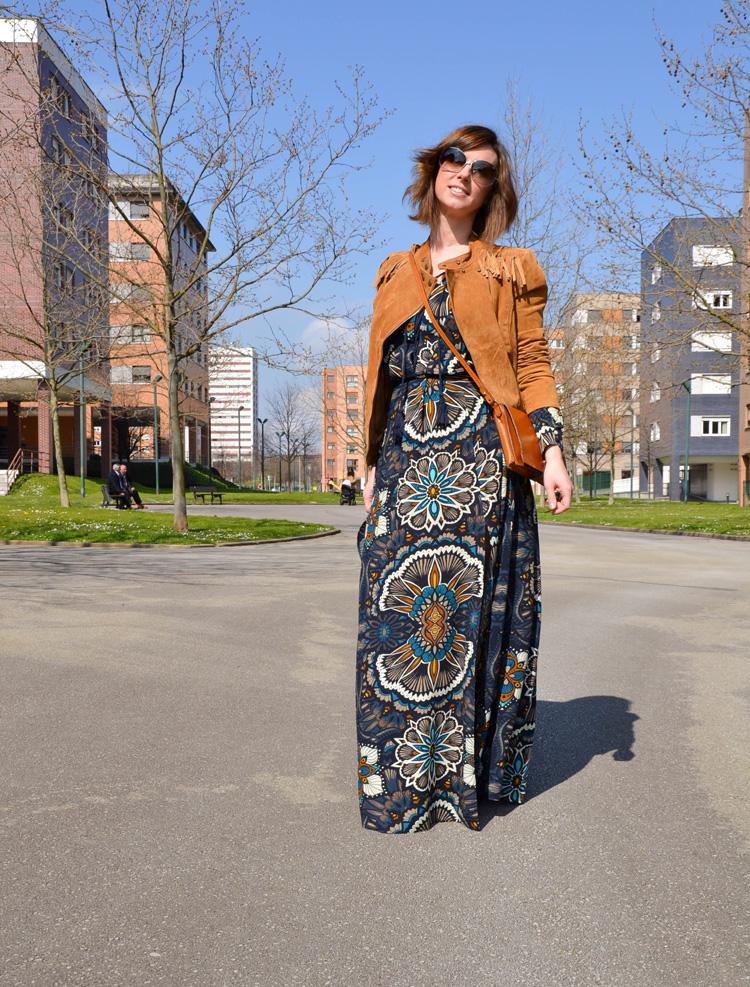 Vestido étnico de H&M