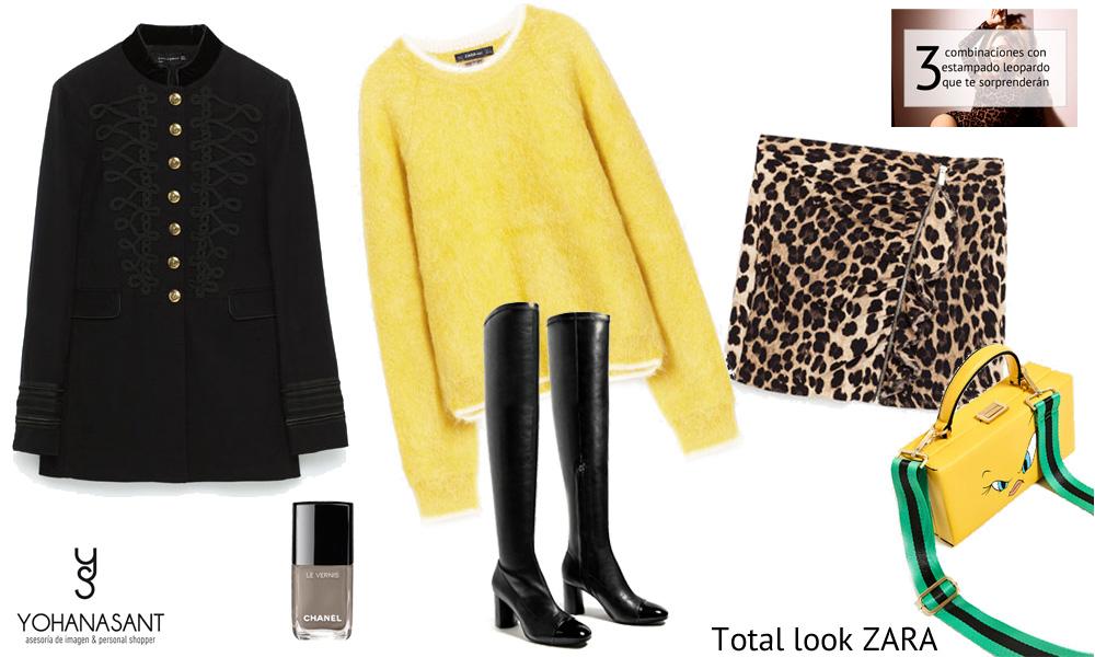3 combinaciones sorprendentes con estampado leopardo