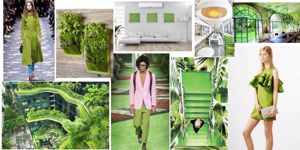 Greenery el color del año 2017