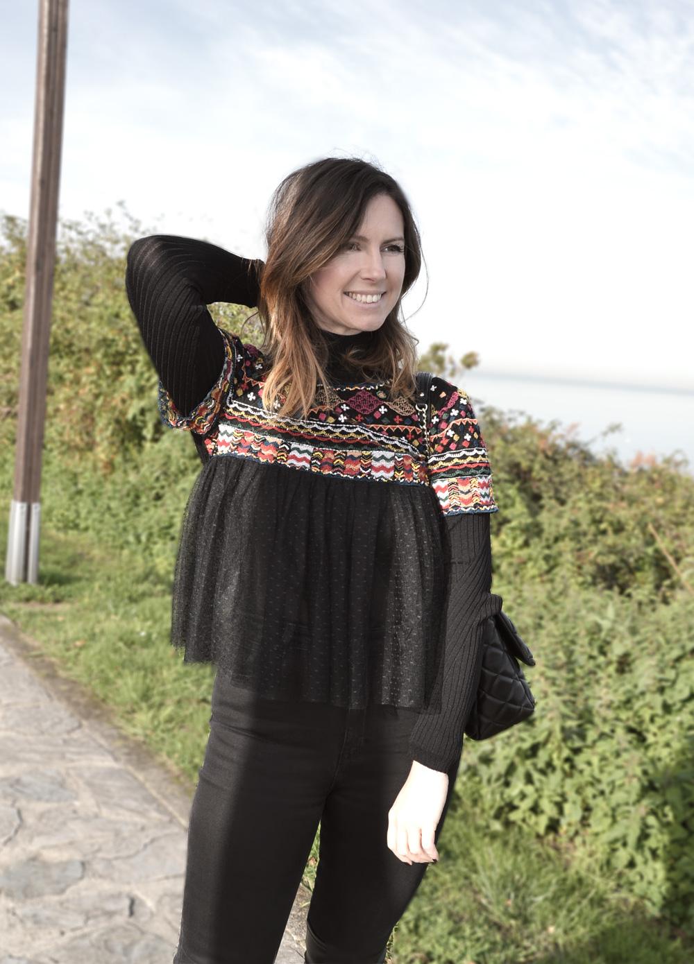 blusón étnico