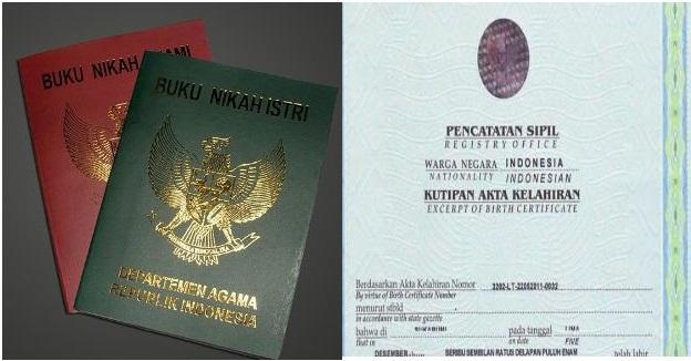 Legalisir Buku Nikah Dan Akte Kelahiran Di 3 Kementerian Untuk