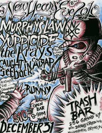 @ Trash Bar w/ Murphy's Law, Yuppicide, The Krays, Caught In A Trap and Setback