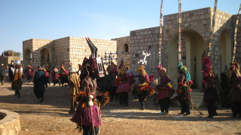 ドゴン族のお祭り
