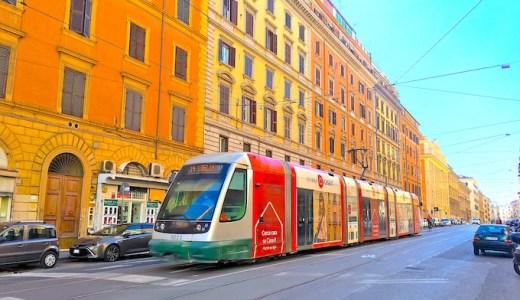 【イタリア旅行】ローマ市内のバス・トラム・メトロの使い方