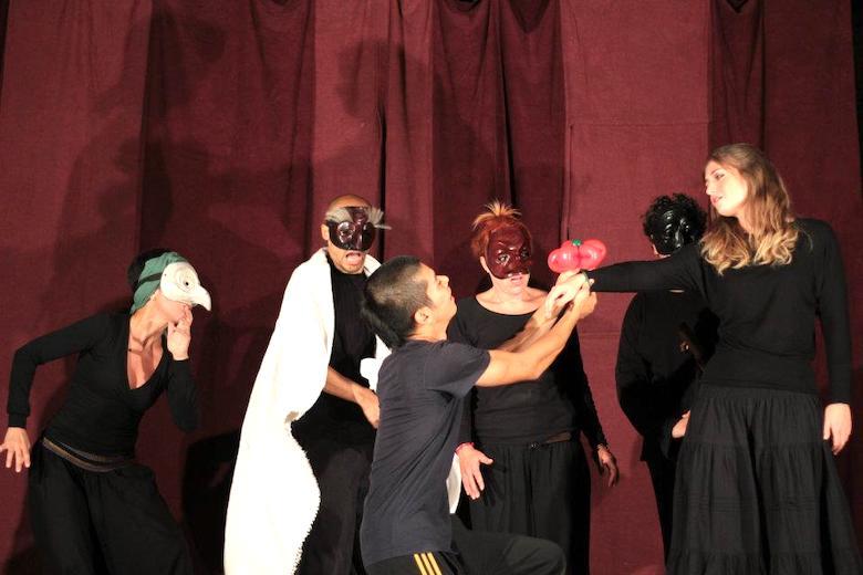 イタリア伝統演劇「Commedia dell'arte」
