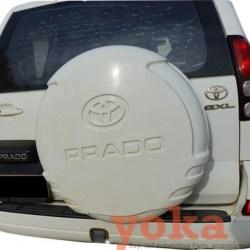 Prado 120 Spare Tyre Cover - Painted