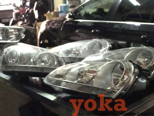 VW Golf 5 Headlamps