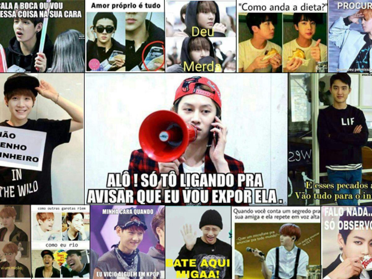 Meme No Kpop Deixe Seu K Idol Falar Por Voce Yokaipop