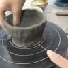 春休みは銀座の陶芸教室でロクロを初体験