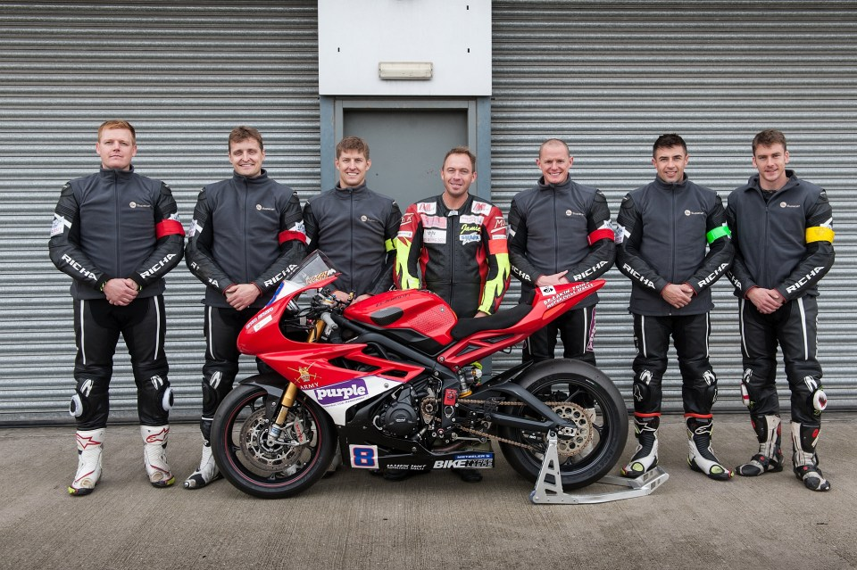 motorcycle race team